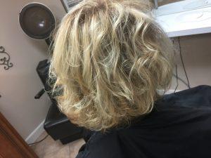 classy hair salon style