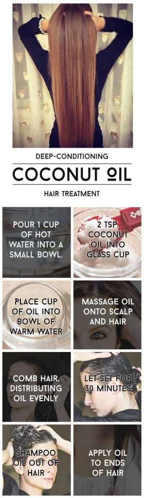 coconut hair product